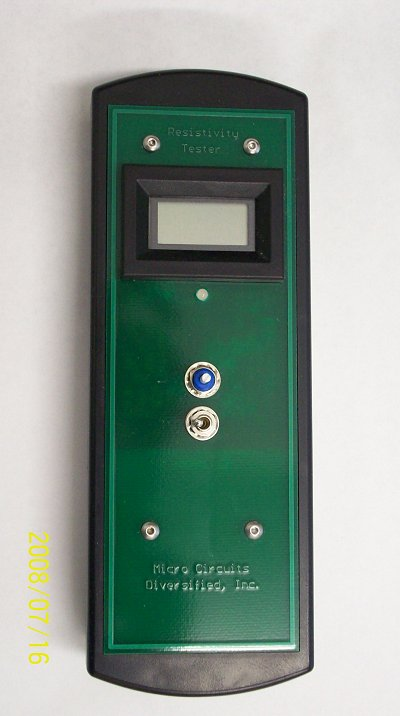 Pocket Go/No-Go Tester For Silicon Wafers, Ingots and Pot Scrap